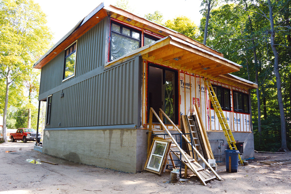 Bayfield man turns heads with shipping container homes Containers turned into homes
